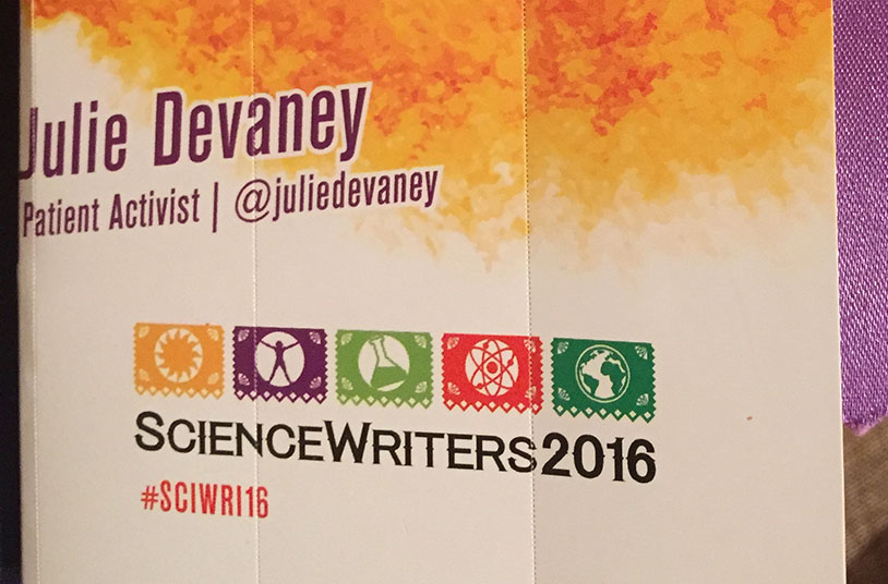 I Went to Texas, Science Writers 2016, www.juliedevaney.com